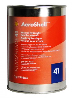 AeroShell Fluid 41 hydraulic oil-1-Quart Cans