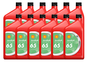 Aeroshell Oil W 65-12 x 1-Quart Cans