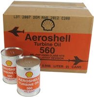 AeroShell Turbine Oil 560 - 24x1-Quart Cans