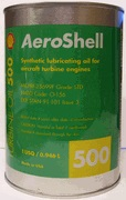 Aeroshell Turbine Oil 500-1 Quart Case