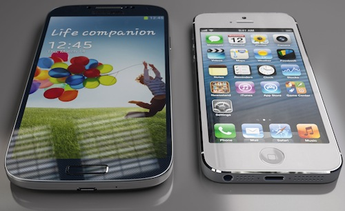 Samsung Galaxy S4 Apple iPhone 5