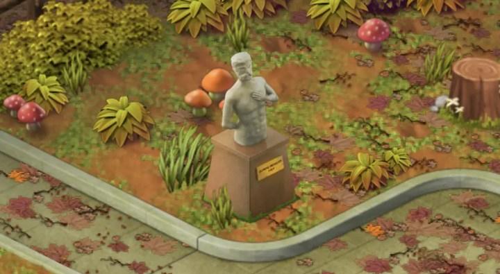 Poliere die Statue - Wordington