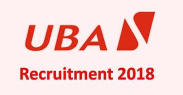 United Bank for Africa Plc (UBA) Graduate Trainee Recruitment 2018