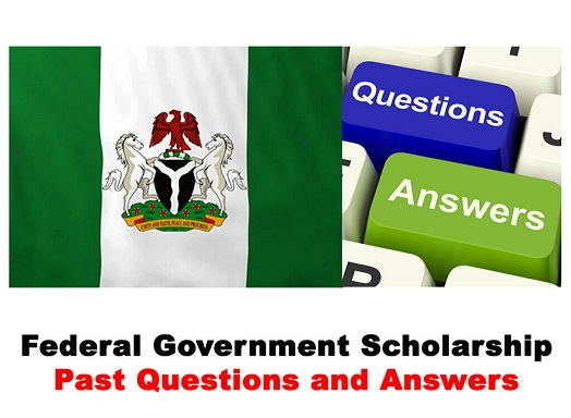 Federal Government Scholarship FSB Past Questions and Answers