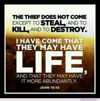John 10.10