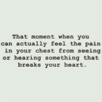 feel pain in chest