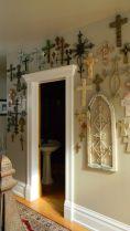 wall of crosses