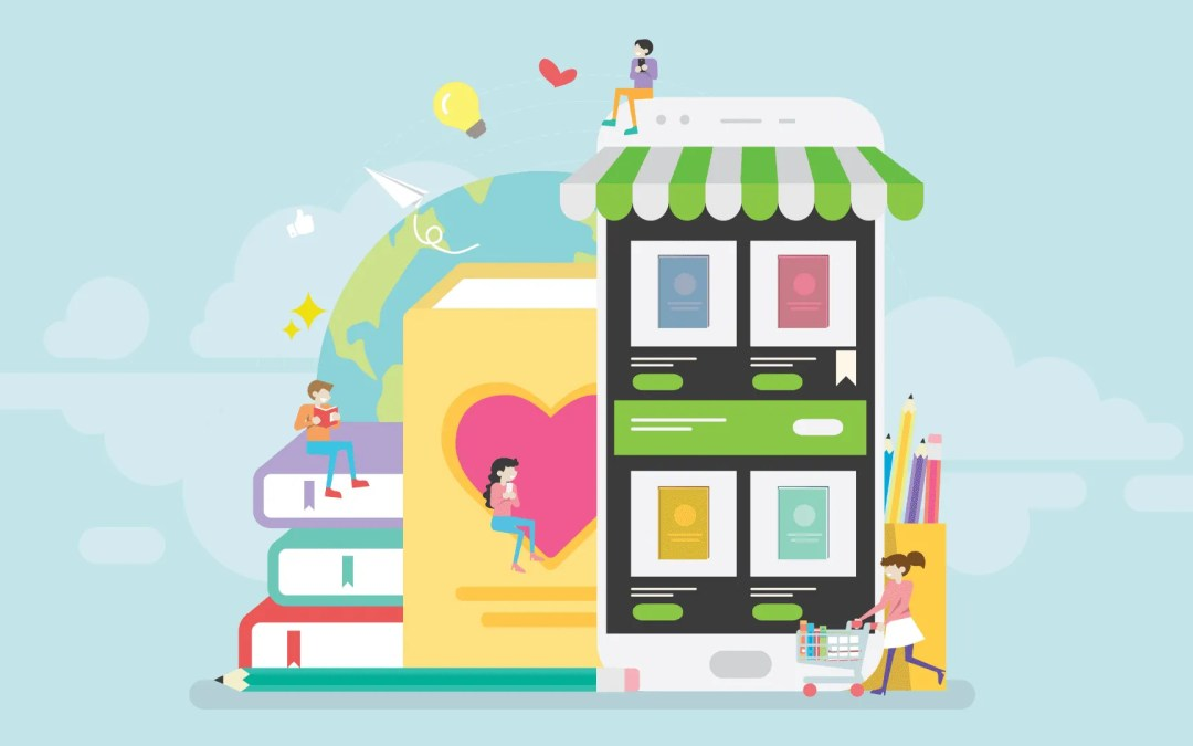 Level up your online bookstore business with a mobile app