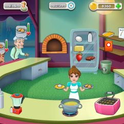 Kitchen Cooking Games Counter Height Tables Story  Appon