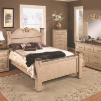 Zoe Bedroom Pc Set Queen Furniture New Bed Aarons ...