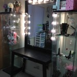 How Dazzling Makeup Vanities For Bedrooms With Lights Bedroom Mirrors Modern Mirror Looks Products Brushes Ideas Vanity Organizer Ikea Apppie Org