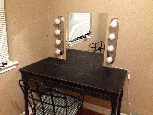 Vanity Desk Mirror Inspirational Console Table