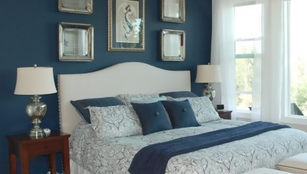 Cool Blue Bedroom Paint Idea For Teenage Boys House Design Accent Wall Decoration Paints Shades Fun Colors Dark Ideas Pattern Home Depot Room Apppie Org
