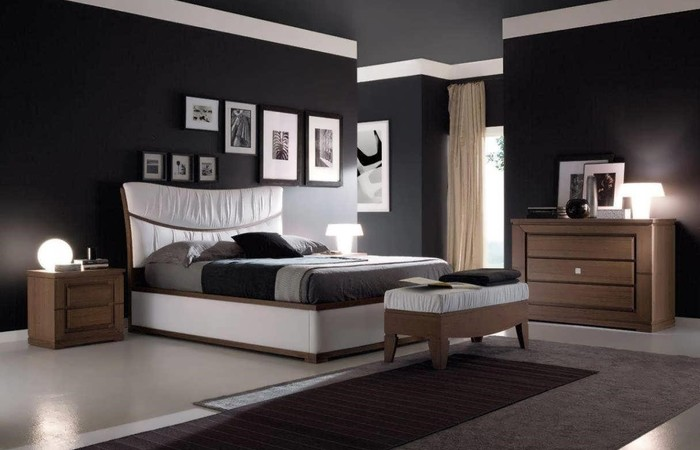 Wall Bedroom Decoration Black Walls Open Wood Shelving Units Living Room For Files Kitchen Wooden Metal Storage Cubes Medical Unit Apppie Org