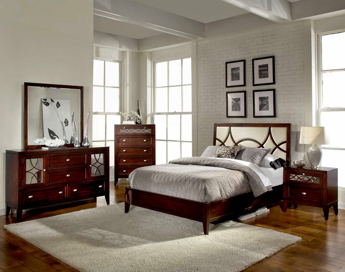 solid cherry wood bedroom furniture ideas decorating modern meridian luxor suite sleigh set watch box with gray bedding apppie org