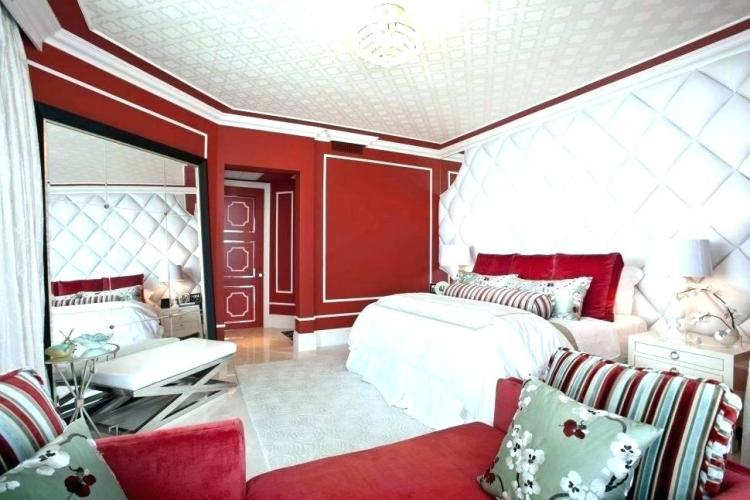 Red Bedroom Wall Colour Color Ideas Paint Black White And Decorating For Painting Bedrooms Teen Colours Trends Instagram Avo Green Walls House Loft Combination Apppie Org