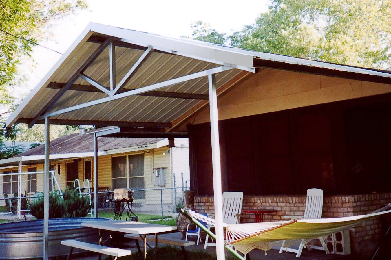 metal awnings for patios patio covers