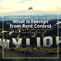 What are the rent control exemptions?