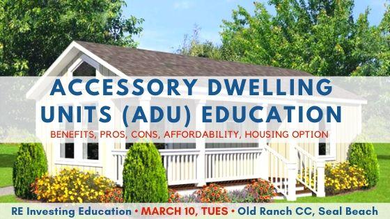 03 ADU Accessory Dwelling Unit Workshop