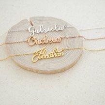 Collier Personnalisable Prénom - Caitlyn Minimalist - 23€