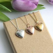 Collier médaillon coeur - JKW Accessories - 13€