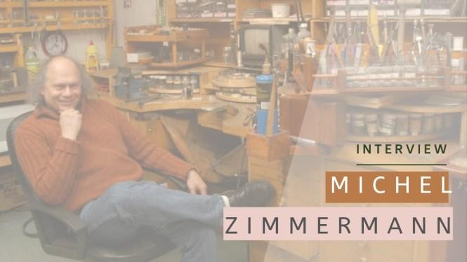 Michel Zimmermann, bijoutier-joaillier de la ville de Québec, et créateur du forum bijoux à la cheville