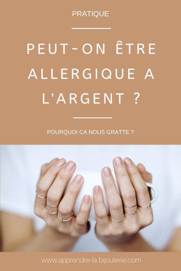 allergie bague or