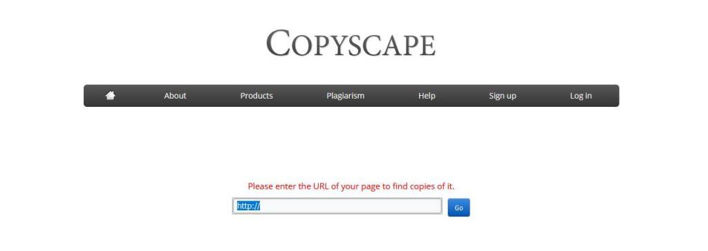 Outil SEO anti-plagiat : Copyscape