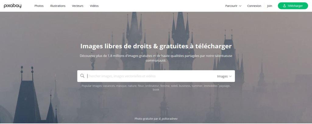 Pixabay, images a telecharger gratuitement
