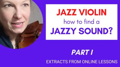 jazz violin lesson