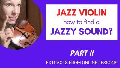jazz violin lessons