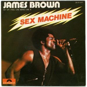 Le Groove de Sex Machine de James Brown à la batterie