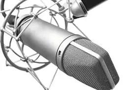 matériel de prise de son micro-voix off