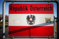 Arriver en Autriche