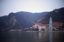 Le bord du Danube près de Krems