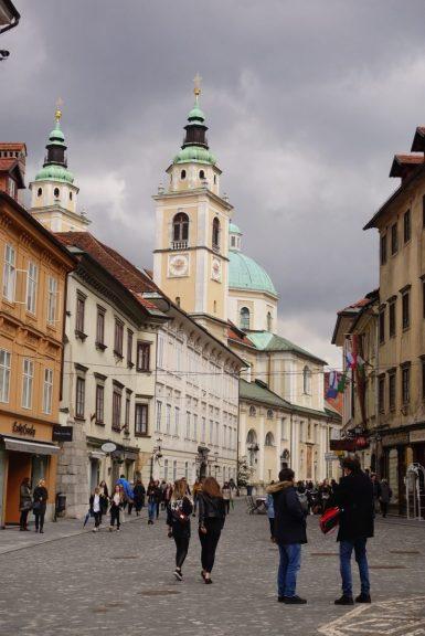 Ljubljana, capitale slovène à taille humaine