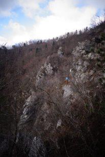 Perdu dans la roche