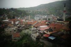 Vue sur Travnik