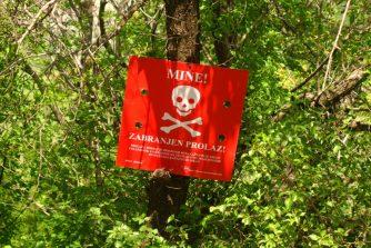 Mines, Danger de mort