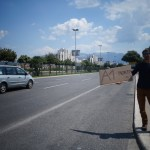 Autostop en croatie - près de Split