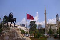 Centre ville de Tirana