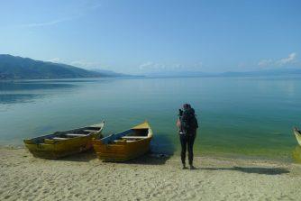 Derniers jours en Albanie au bord du lac