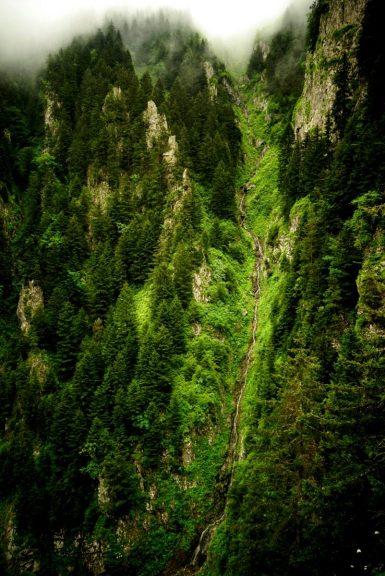 1001 cascades entre Gunbuldu et Uzuntarla