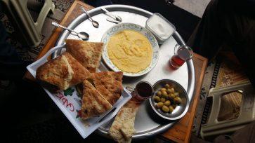 Petit déjeuner des montagnes, Kuymaz