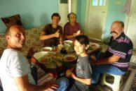 Saim et sa famille nous accueillent
