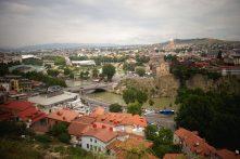 Vue sur la ville, Tbilisi