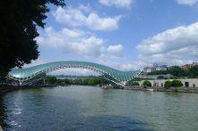 Pont de la paix, Tbilisi