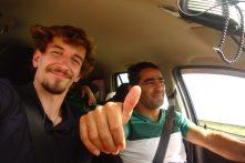 Autostop vers l'Iran