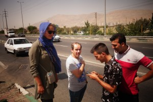 Autostop : Des Iraniens nous viennent en aide
