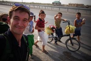 Enfants turkmenistan - Autostop
